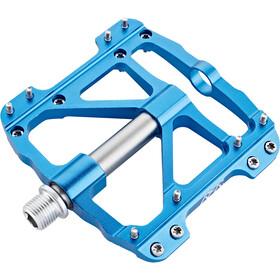 Cube RFR Flat SLT Pédales, blue´n´grey